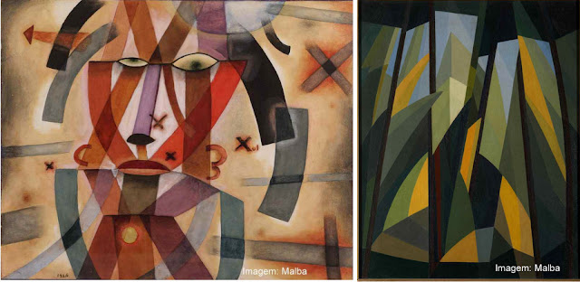 Obras de Xul Solar e de Emilio Pettoruti no Museu de Arte Latino-Americana de Buenos Aires - Malba