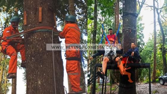 Jasa Pemasangan Flying Fox Pohon