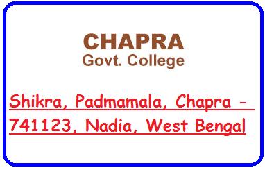 Chapra Govt College