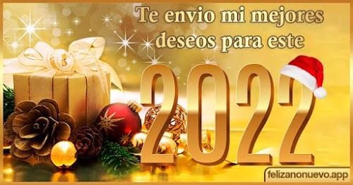 Feliz año nuevo 2022 Frases  🎉