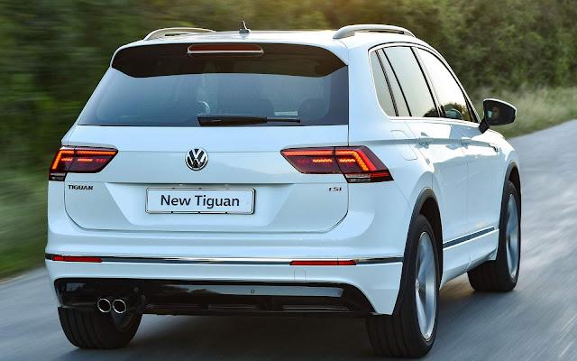 VW Tiguan 2017 - Branco
