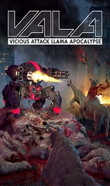 Vicious Attack Llama Apocalypse pc cover - Vicious Attack Llama Apocalypse-CODEX