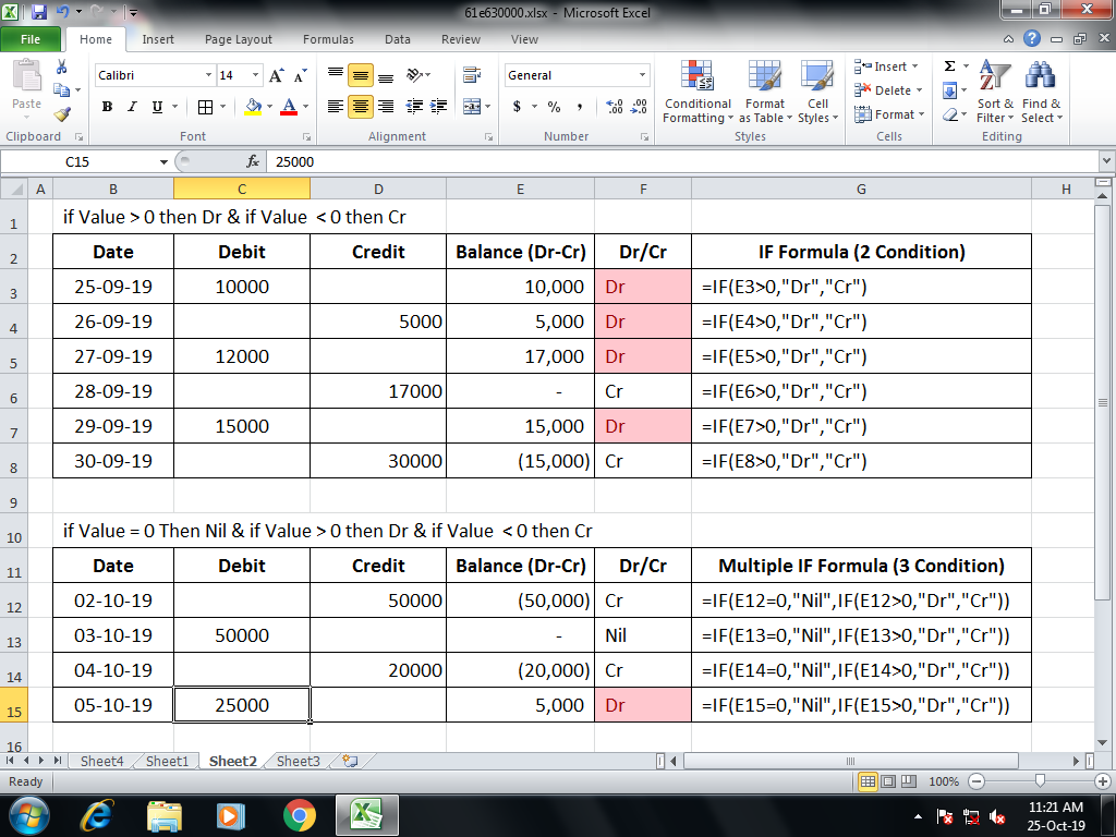 exceldesk.in IF Formula | Learn Excel Formula with Simple Example |