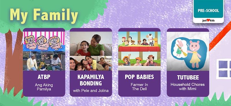 And of course, Just Love Kids won't be under ABS-CBN's roster of programs if it is not family-centric