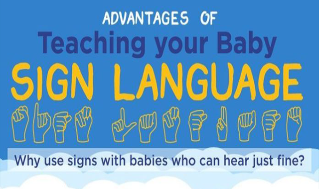 Advantages of Teaching Your Baby Sign Languages