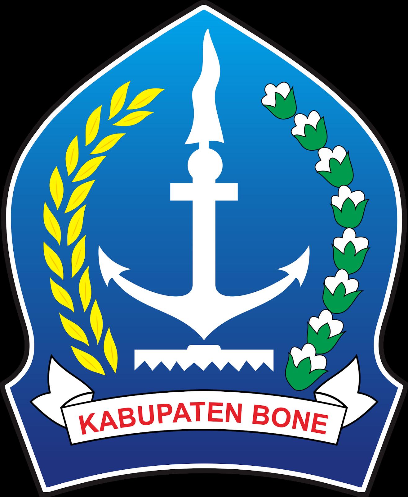 Logo Kabupaten Bone dan Maknanya Vector File CDR CorelDraw