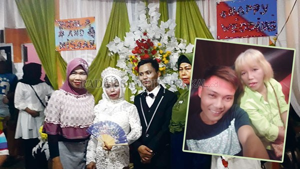 Tulus Mencintai, Pemuda 24 Tahun Nikahi Wanita Nyaris Setengah Abad