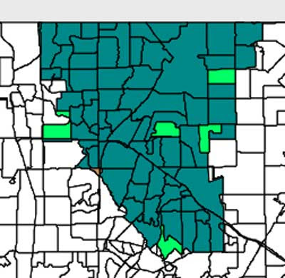 RISD election map