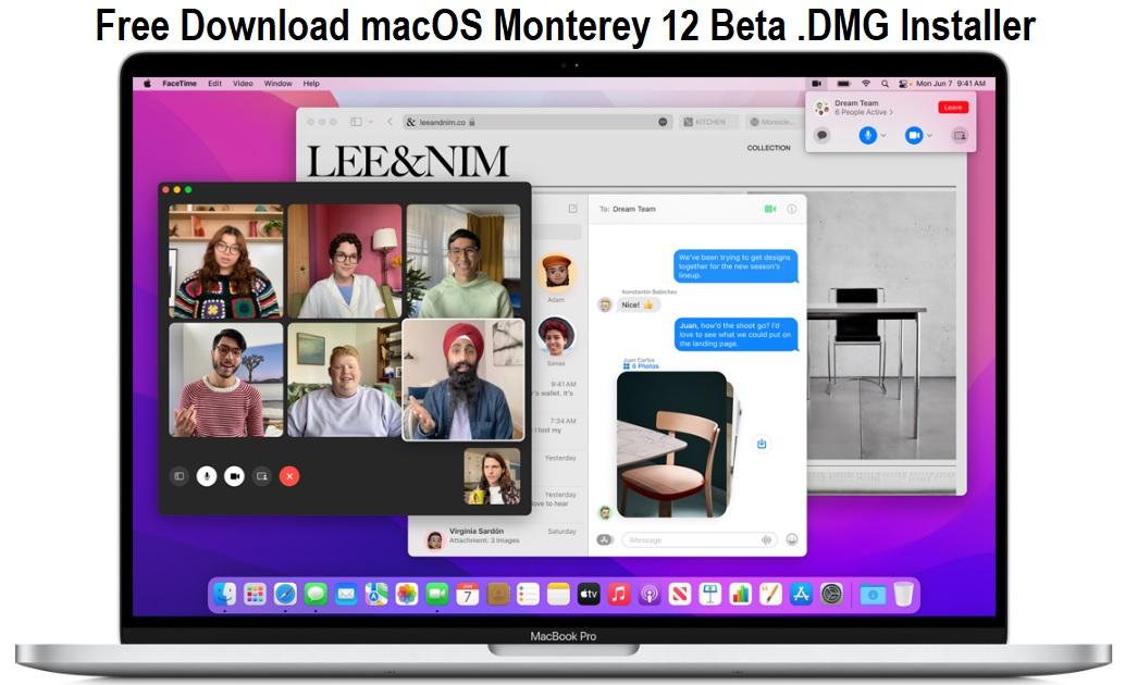 Download macOS Monterey 12 Beta .DMG