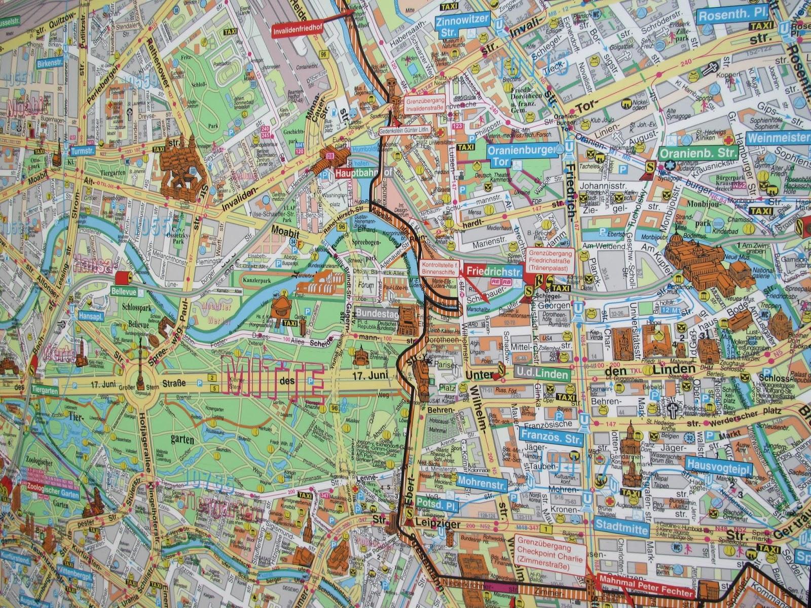 karta berlin sevärdheter Blogging around the world with Lilian: Lilians lilla Berlin guide  karta berlin sevärdheter