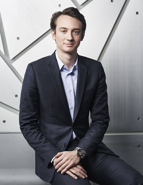 Frederic Arnault, CEO of TAG Heuer