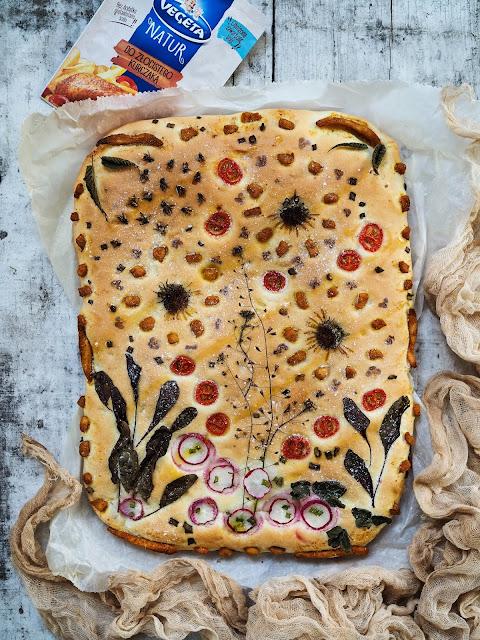 floral bread