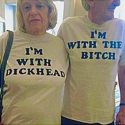 Dickhead and Bitch funny nsfw T-Shirts.  PYGear.com