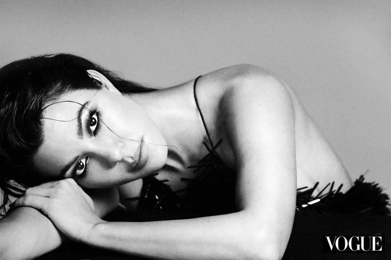 Kourtney Kardashian by An Le for Vogue Mexico Beauty April 2019