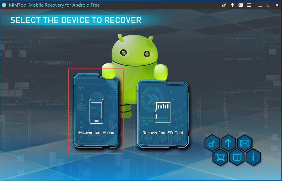 Connect your Android Phone to computer
