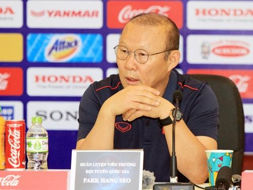 CHÍNH THỨC: HLV Park Hang Seo lên tiếng về hợp đồng