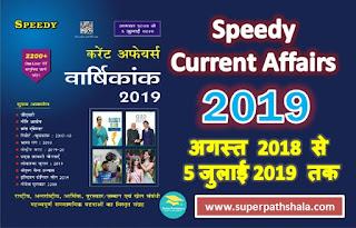 Speedy Current Affairs 2019 PDF Download