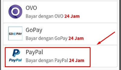 Metode Pembayaran Paypal