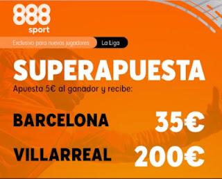888sport Superapuesta Barcelona vs Villarreal 27-9-2020