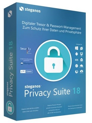 Steganos Privacy Suite 18.0.3 Revision 12145 poster box cover
