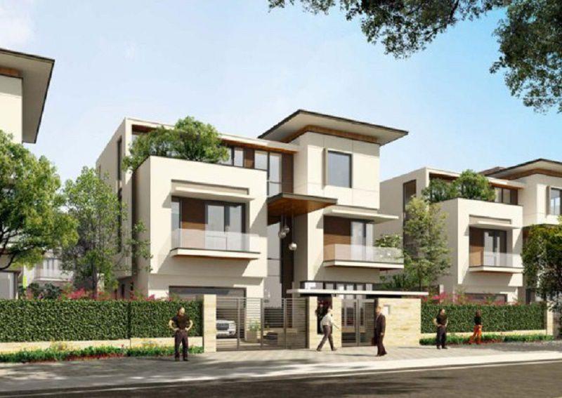Biệt thự Ngoại Giao Đoàn do Tổng công ty xây dựng Hà Nội là chủ đầu tư