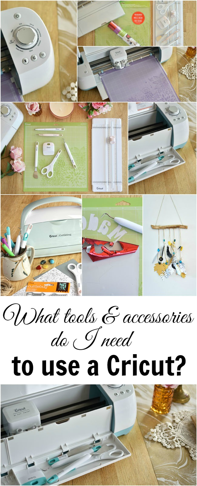 I have a Cricut, now what do I do with it? What accessories do I absolutely have to have and how much will they cost me?