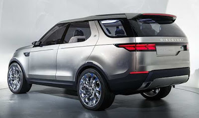 All New 2017 Land Rover Discovery HD Images