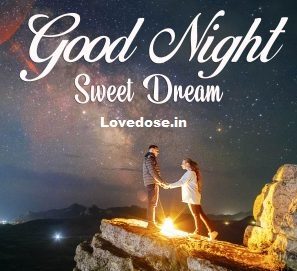 romantic good night images for her