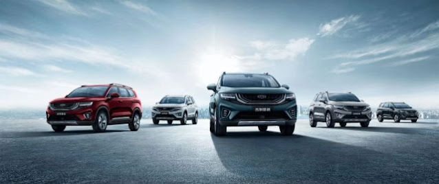 سيارات جيلي تحقق مبيعات عالية خلال يونيو 2020