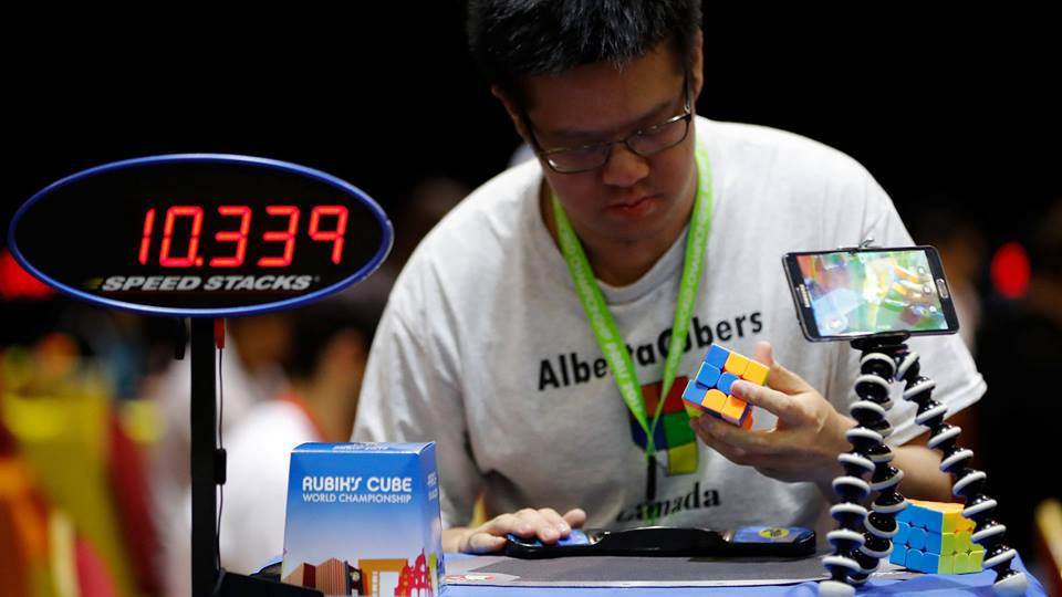 World largest Rubik's cube tournament kicks off in France, entertainment news