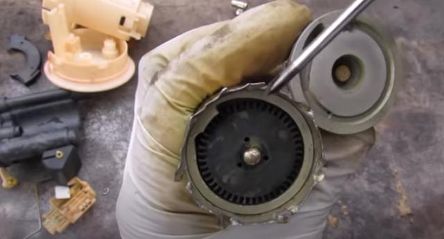 Bentuk impeller pada pumpa bahan bakar