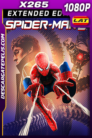 Spider-Man 2 Version Extendida (2004) HD 1080p x265 Latino – Ingles