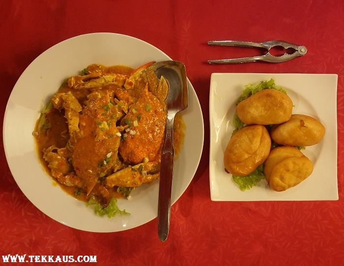 Southern Court Chinese Restaurant Menu Chili Crab Mantou