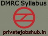 DMRC Syllabus