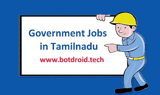 government jobs in tamilnadu for 10th, 12th qualification