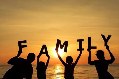 العائلة تجمع