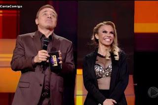 Cantora paraibana anima reality show da Record e leva quase 100 jurados a dançar 'Forró do Xenhenhém'