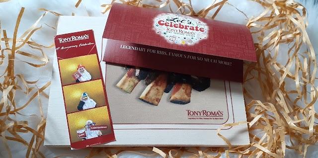 Tony Roma's 13th Anniversary Celebrations & Bite & Bites Mobile App Launch.