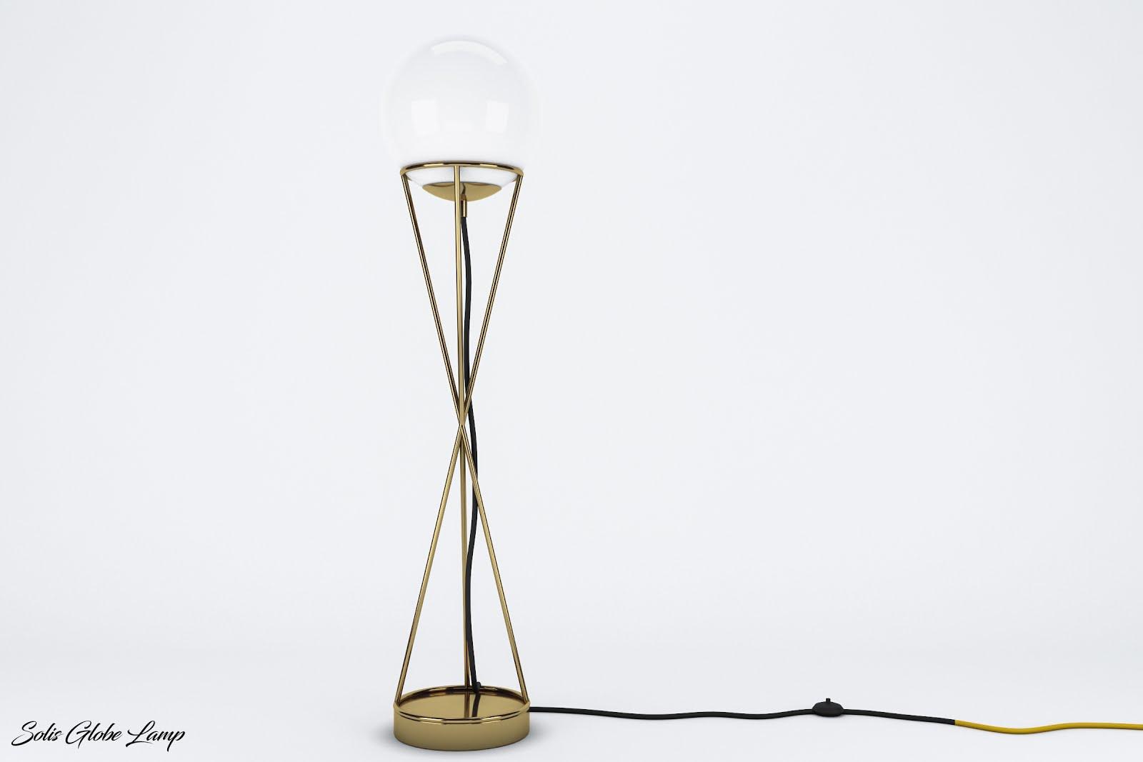 c7ee566681be CGBUY: Solis Globe Floor Lamp