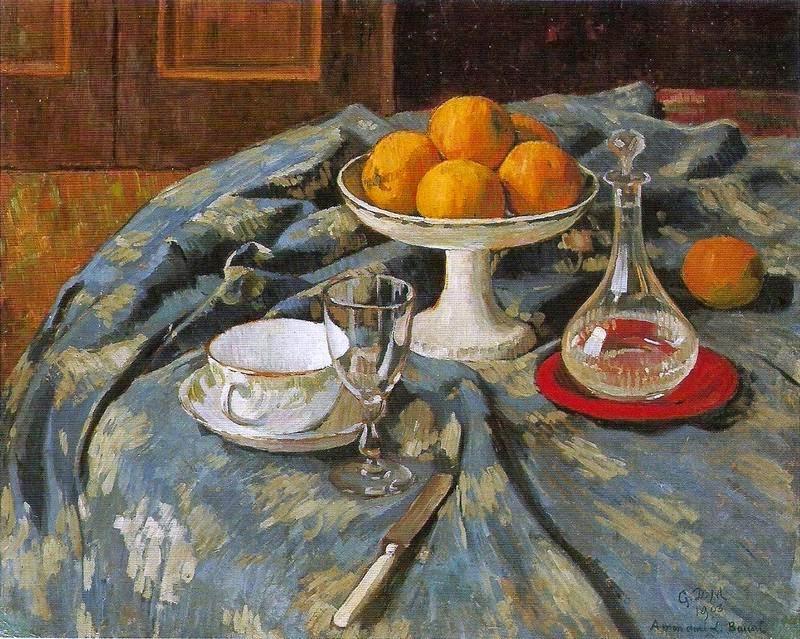 A Still Life Collection: Georges-Daniel de Monfreid (1856-1929) - Nature  mortes avec oranges