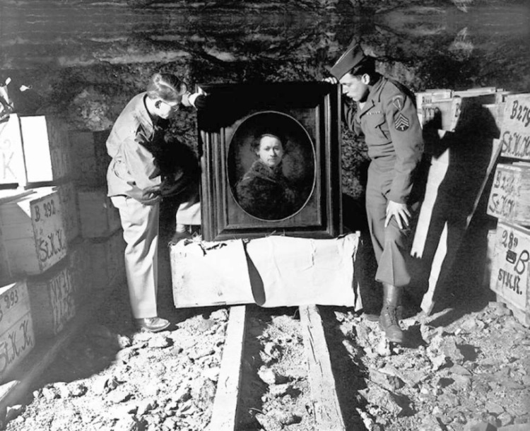 A Vintage Nerd, Vintage Blog, The Real Monuments Men, The Monuments Men, WWII History
