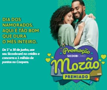 Cadastrar Mozão Premiado Promoção Sicoobcard 2021