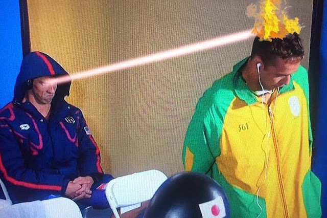 Phelps Death Stare Laser Picture