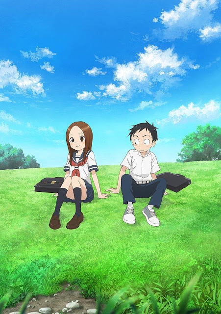 """""""Karakai Jouzu no Takagi-san"""" 2nd Key Visual"""