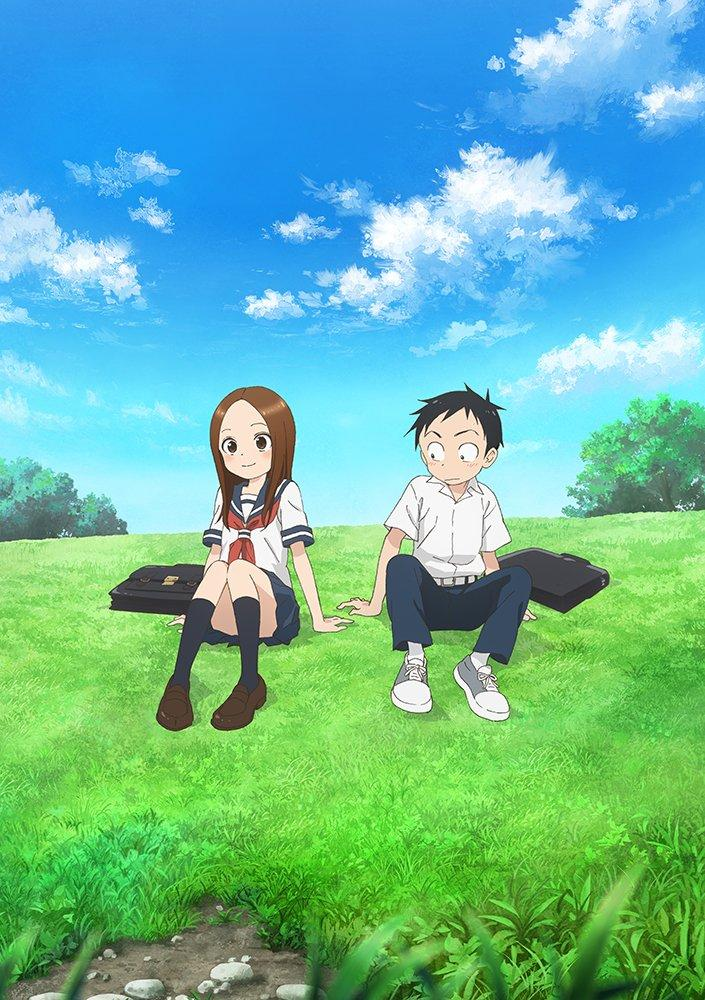Teasing Master Takagi-san Season 2 Key Visual