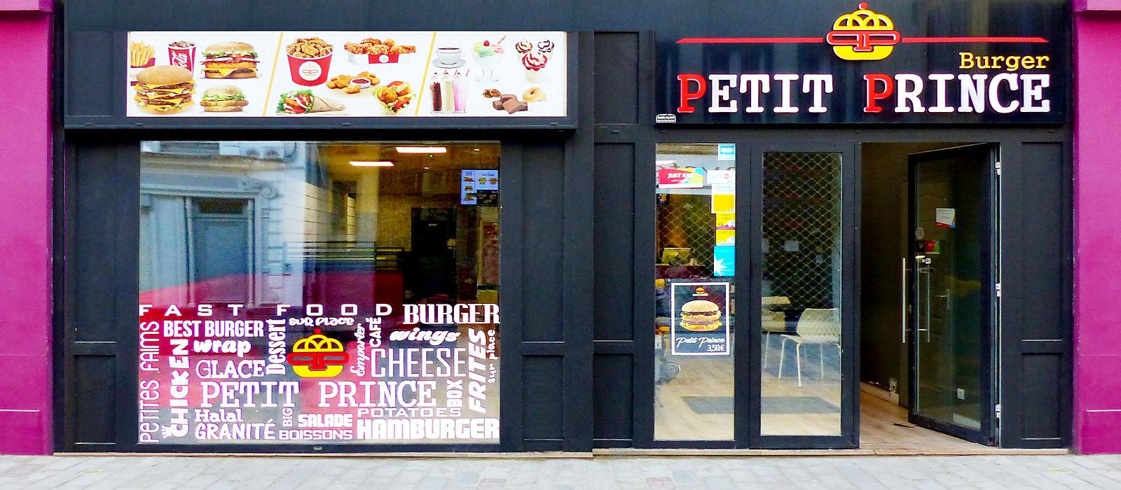 Fast-Food Petit Prince Burger - Tourcoing Centre, rue de Lille