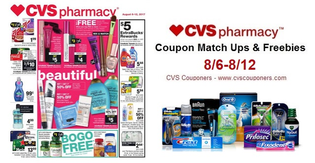 bda23a37ed0 CVS Couponers: CVS Coupon Match Ups & Freebies! (8/6-8/12)