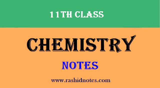 Chemistry 1st Year Notes - Rashid Notes