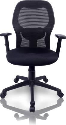 Duratek Corporate M1 Fabric Office Executive Chair  (Black)