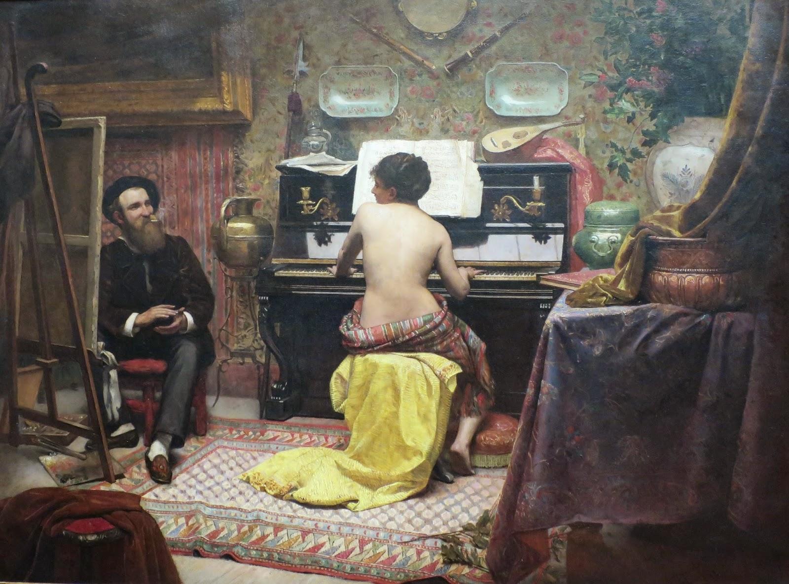 Descanso do Modelo - Almeida Júnior e suas principais pinturas ~ brasileiro